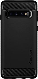 Spigen Rugged Armor Back Case For Samsung Galaxy S10 Plus Matt Black