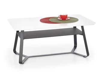 Kafijas galdiņš Halmar Redo 2 Black/White, 1000x600x450 mm