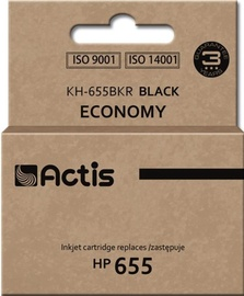 Actis Cartridge KH-655BKR For HP 9ml Black