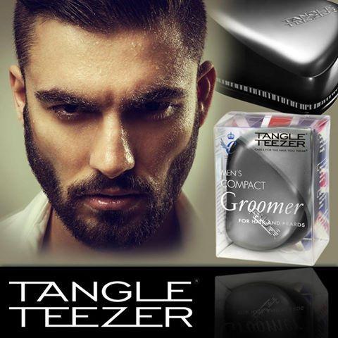 Tangle Teezer Mens Compact Groomer Black