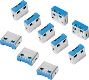 LogiLink USB port blocker 10 x locks