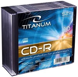 Esperanza 2028 CD-R Titanum 52x 700MB Slim Jewel Case 10pcs