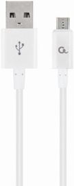Gembird USB To MicroUSB Cable White 2m