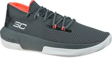 Under Armour Mens SC 3ZER0 III Basketball Shoes 3022048-102 Grey 43