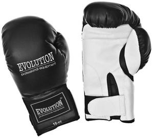 Evolution Boxing Gloves 10oz Black/White