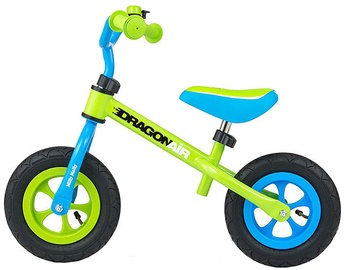Velosipēds Milly Mally Dragon Air Balance Bike Green 2770