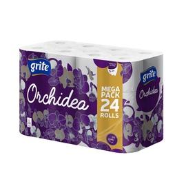 Grite Orchidea Seasons Toilet Paper 21.25m 24pcs White