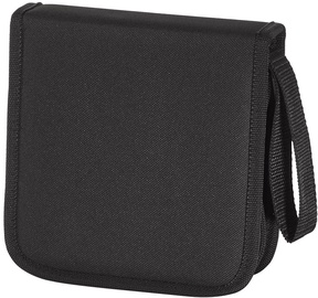 Hama CD/DVD/Blu-Ray Wallet 32 Black