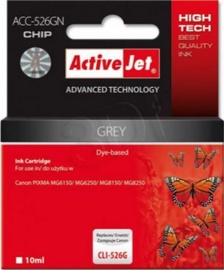 ActiveJet ACC-526GN Cartridge 10ml Grey
