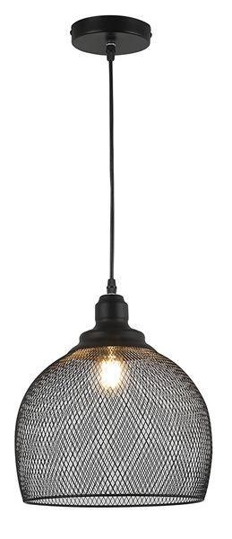 Gaismeklis Verners Basket3 Ceiling Lamp 60W E27 Black