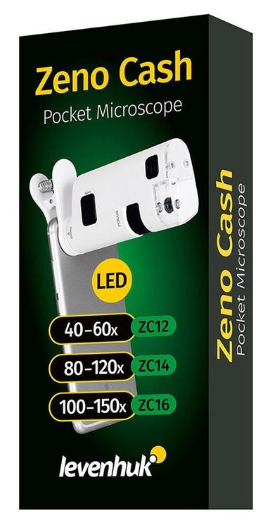 Levenhuk Zeno Cash ZC12 Pocket Microscope White