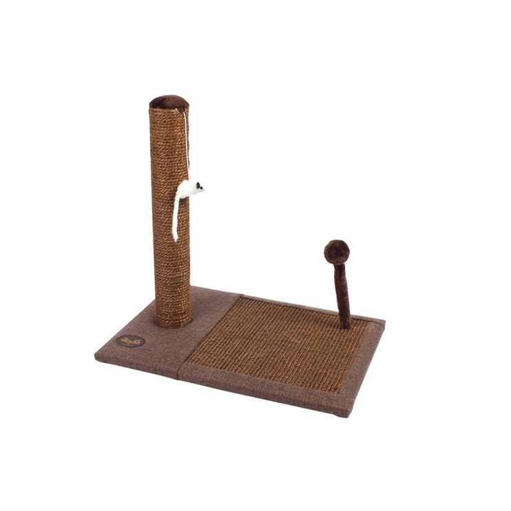 SN Scratching Post Brown 49x34.5x47cm TM-114053