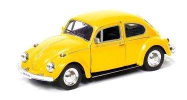 Детская машинка RMZ City Volkswagen Beetle 1967 554017, красный/желтый/