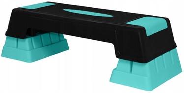 SportVida Aerobic Fitness Stepper Board Blue/Black 76x29cm
