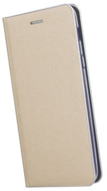TakeMe Metal Edge Shine Book Case For Samsung Galaxy J6 J600F Gold