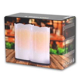 DecoKing Dripwax LED Candle Set 12.5cm 2pcs