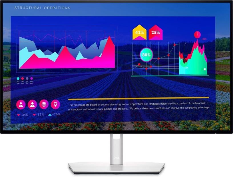 """Monitors Dell UltraSharp U2722D, 27"""", 8 ms"""