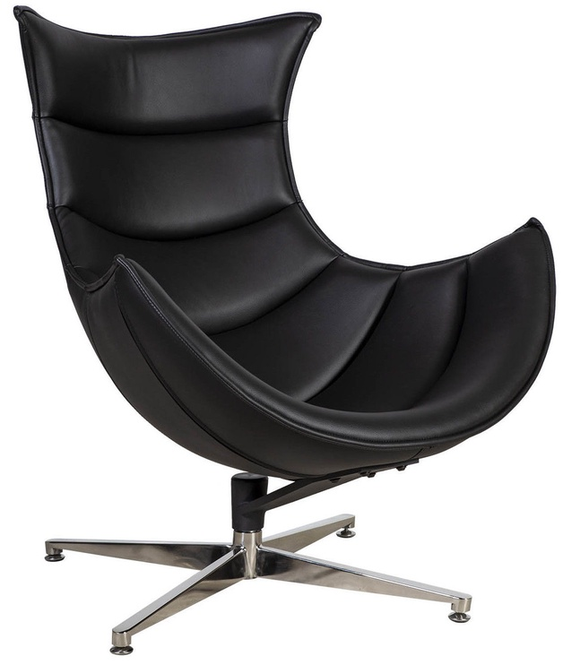 Кресло Home4you Grand Extra 39031, черный, 86 см x 84 см x 96 см