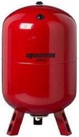 Ūdens tvertne Aquasystem Expansion Vessel for Heating System Red 50L