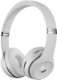 Austiņas Beats Solo 3 Wireless Satin Silver, bezvadu