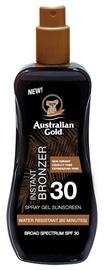 Sprejs saules aizsardzībai Australian Gold Instant Bronzer SPF30, 100 ml