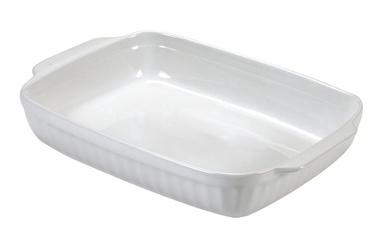 Guardini Rectangular Baking Form 22x14x5cm White
