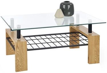 Журнальный столик Halmar Estella Golden Oak/Black, 1000x450x600 мм