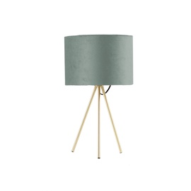 Home4you Trinity Table Lamp E27 40W Green/Gold