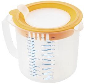 Leifheit Mixing Bowl Measure&Store 1,4L