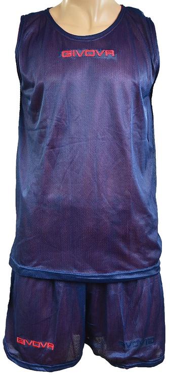 Комплект Givova Complete Double Basketball Set Blue Red XS