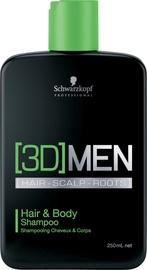 Schwarzkopf 3D Hair & Body Shampoo 250ml