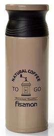 Fissman Natural Coffee Vacuum Bottle 500ml Beige