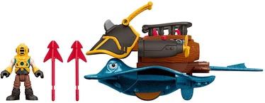 Rotaļlietu figūriņa Fisher Price Captain Nemo & Stingray