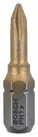 Bosch Max Grip PH1 25mm Screwdriver Bit 3pcs