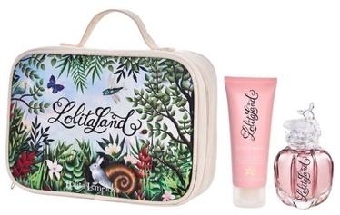 Komplekts sievietēm Lolita Lempicka Lolitaland 40 ml EDP + 75 ml Body Milk + Cosmetic Bag