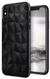 Blun 3D Prism Shape Back Case For Samsung Galaxy J6 J600F Black