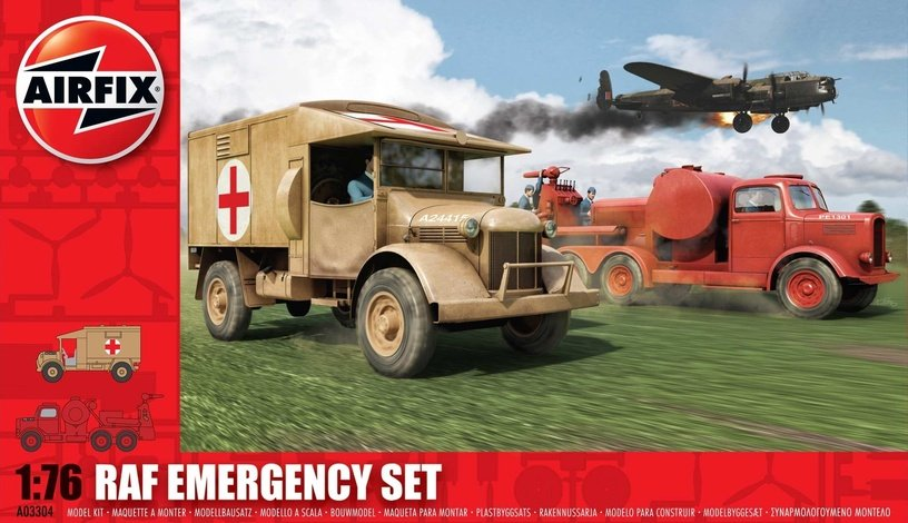 Konstruktors Airfix RAF Emergency Set 1:76