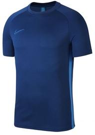 Nike Men's T-shirt Academy SS Top AJ9996 407 Navy Blue S