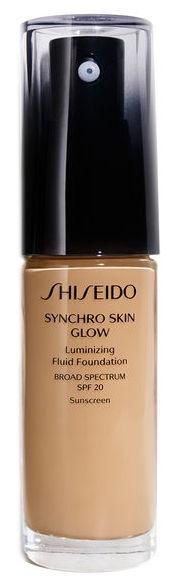 Tonizējošais krēms Shiseido Synchro Skin Glow 05 Golden, 30 ml