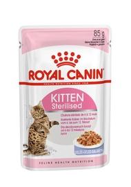 Mitrā kaķu barība Royal Canin FHN Kitten Sterilised In Jelly 12pcs, 0.085 kg