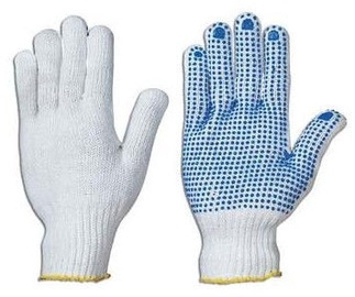 DD Gloves Knitted With PVC Single-Sided Dots 10