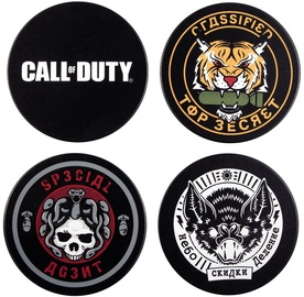 Gaya Entertainment Call Of Duty Black Ops Cold War Badge Coaster 4pcs