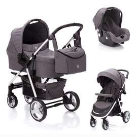 Fillikid Lion Universal Stroller 3in1 Light Grey