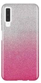 Wozinsky Glitter Shining Back Case For Samsung Galaxy A7 A750 Pink
