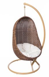 Dārza krēsls Masterjero Sandy Y9037, brūna, stiprināms