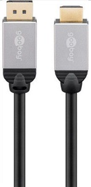 Goobay Plus DisplayPort To HDMI Cable Gray 2m
