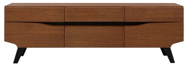 ТВ стол Black Red White Madison, коричневый/дубовый, 1620x420x530 мм