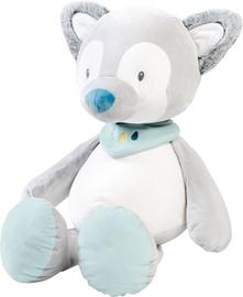 Mīkstā rotaļlieta Nattou Cuddly Animal Tiloo Wolf 498043, pelēka/gaiši zila, 75 cm