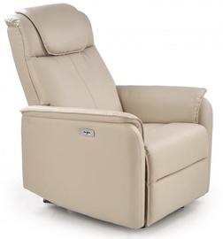 Atzveltnes krēsls Halmar Paradise Cream, 75x94x103 cm