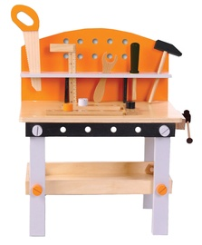 EcoToys Wooden Workshop with 32 Tools 1176